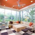 Những ý tưởng sơn màu sáng tạo cho phòng khách